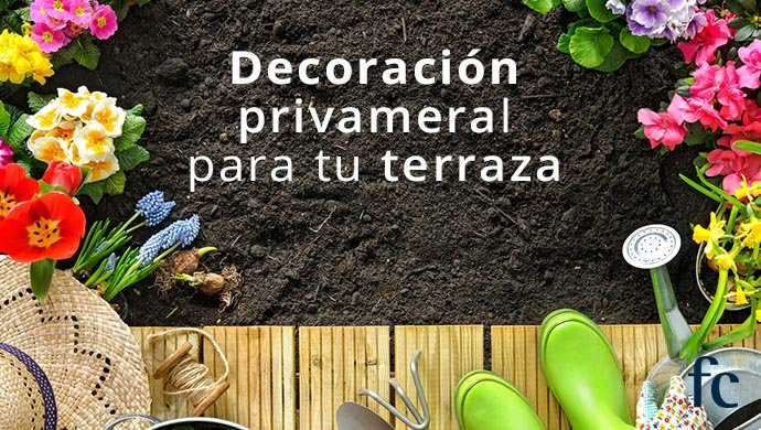 Ideas decorar terraza en primavera