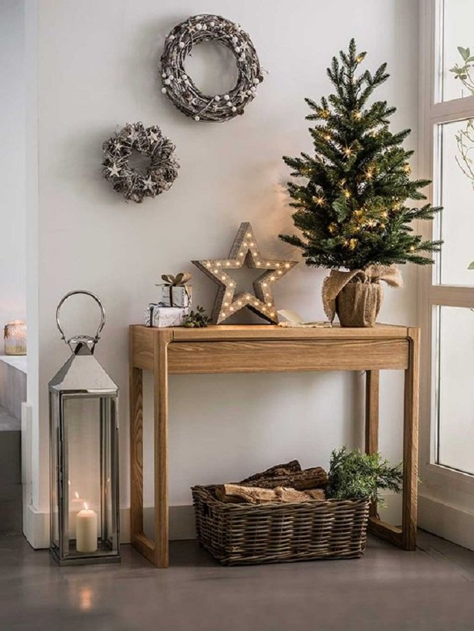 Decorar Salon Navideno.Siete Ideas Para Tener Una Decoracion Navidena De Diez