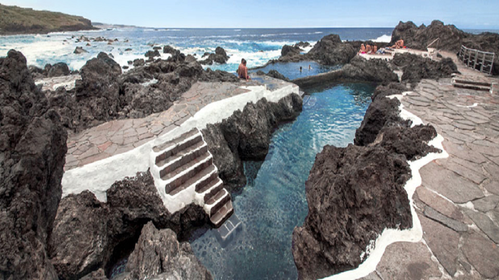 piscina natural en Tenerife